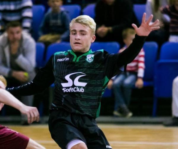 Беларус Данііл Крывіцкі ў 15 гадоў гуляе ў футбол у іспанскім клубе