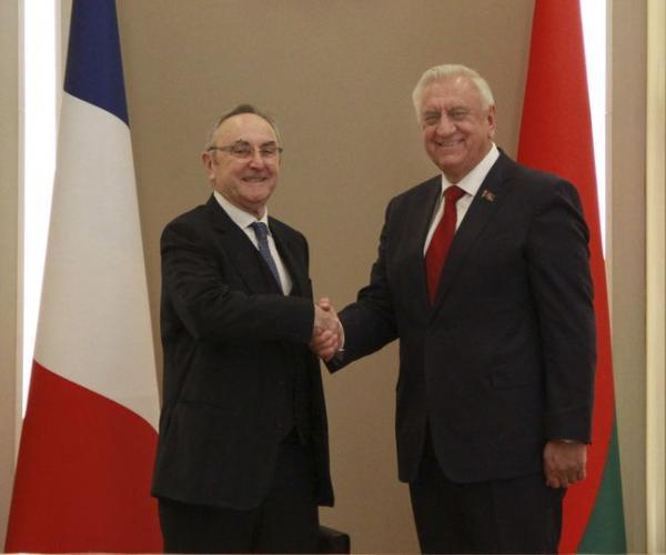 Як будуць супрацоўнічаць Беларусь і Францыя?
