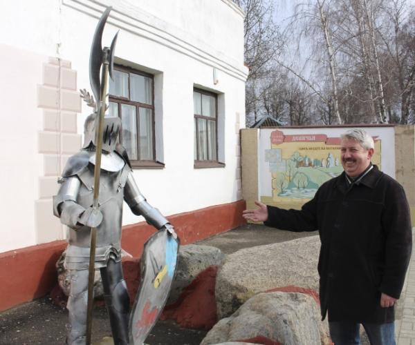 Зваршчык з Мсціслава стварае ўнікальныя жалезныя скульптуры