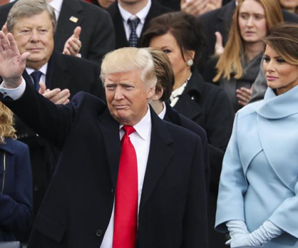 Дональд Трамп афіцыйна ўступіў на пасаду 45-га прэзідэнта ЗША