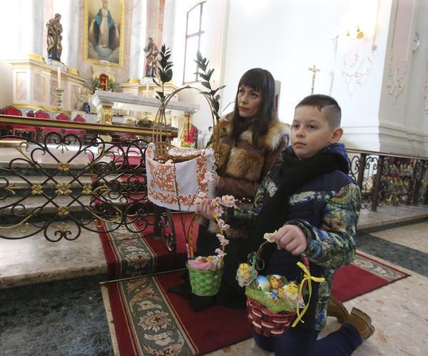 Пастырскае Пасланне Мітрапаліта Тадэвуша Кандрусевіча на Вялікдзень