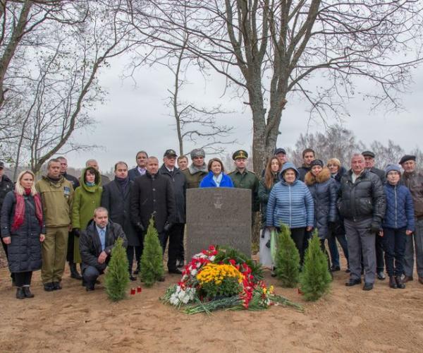 У Латвіі ўшанавалі памяць малодшага сына маці-патрыёткі Анастасіі Купрыянавай