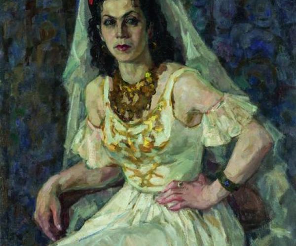 Фронтовой портрет. Балерина Александра Николаева