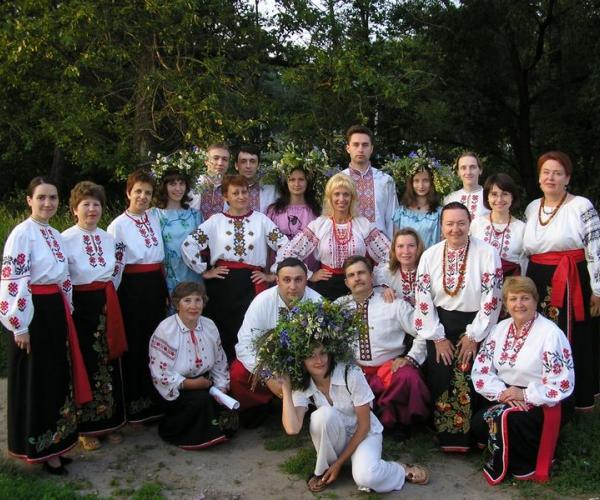 Украінская песня — зусім не чужая