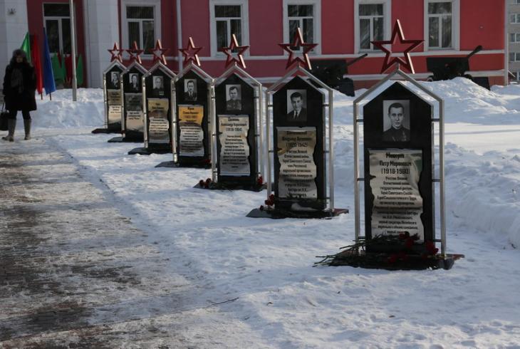 У Расонах адзначылі 100 гадоў з дня нараджэння Пятра Машэрава