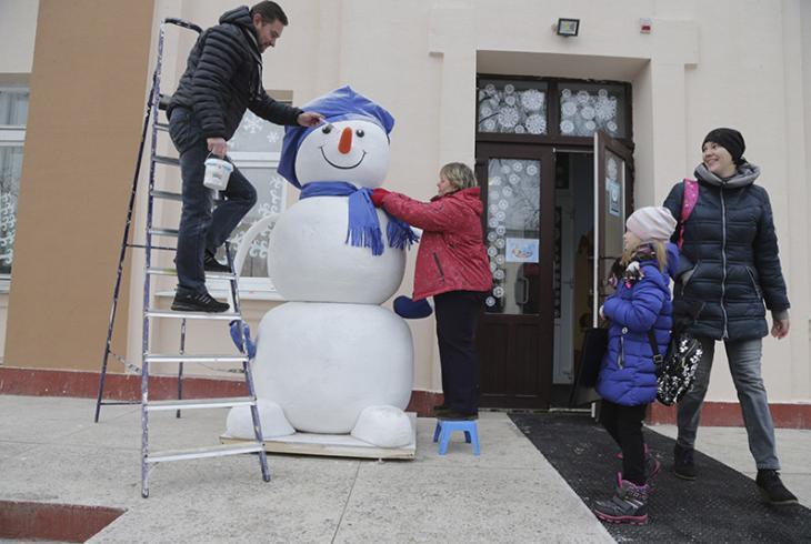 Дзе снегавік, там і свята