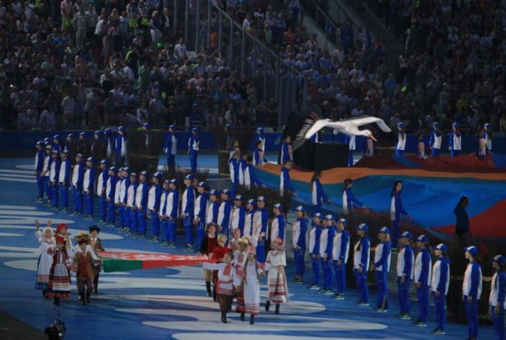 Як прайшла цырымонія адкрыцця Еўрапейскіх гульняў