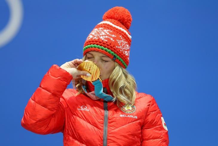Ганна Гуськова атрымала залаты медаль