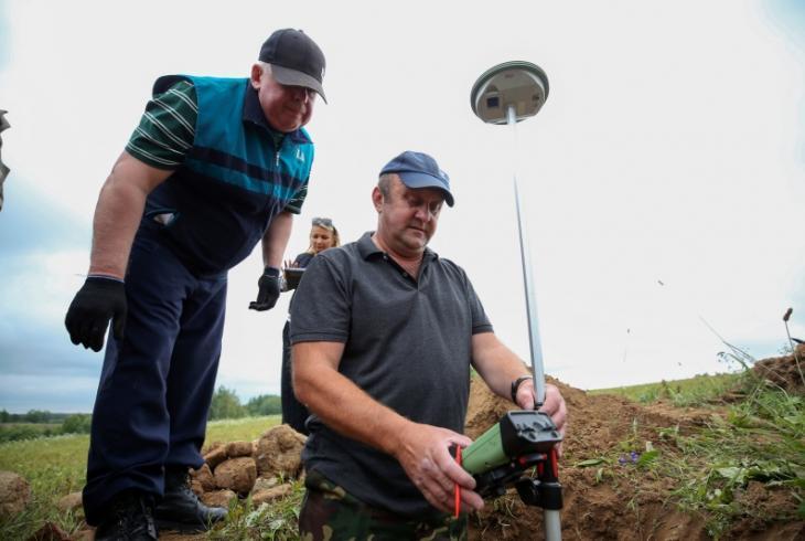 «Нулявы кіламетр» сучаснай еўрапейскай геадэзіі знойдзены ўБраслаўскім раёне
