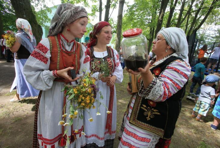 Зёлкавы фэст на Пятровіцу