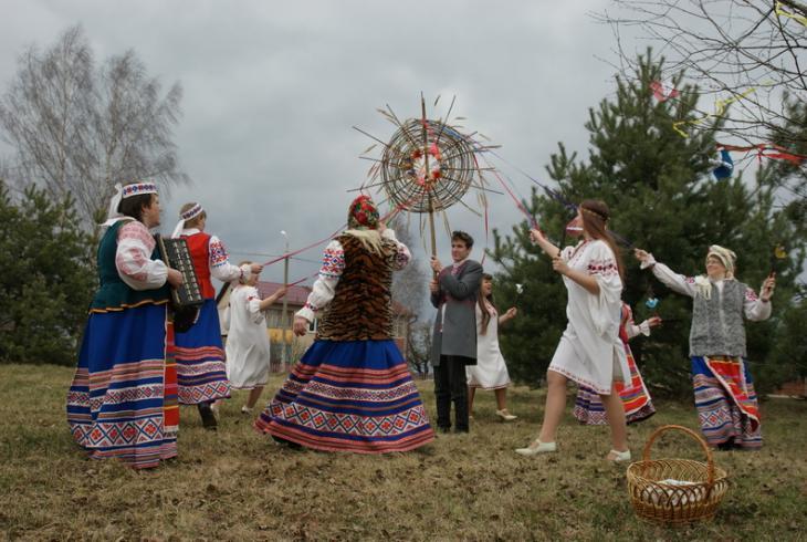 У Клімавіцкім раёне правялі абрад «Саракі»