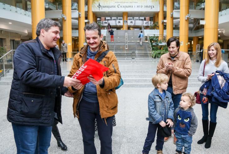 Пераможцы віктарыны «Мая Скарыніяна» наведалі Нацыянальную бібліятэку