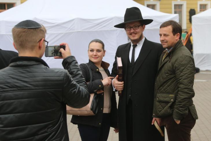 Фестываль яўрэйскай культуры прайшоў у Мінску