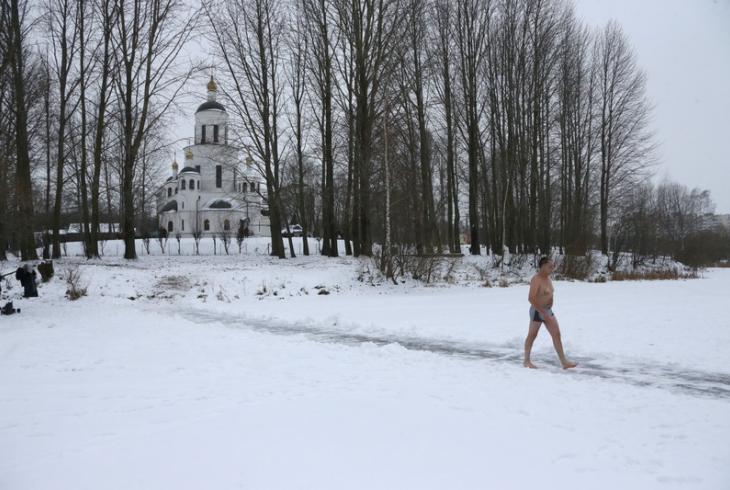 Вадохрышча на Чыжоўскім вадасховішчы