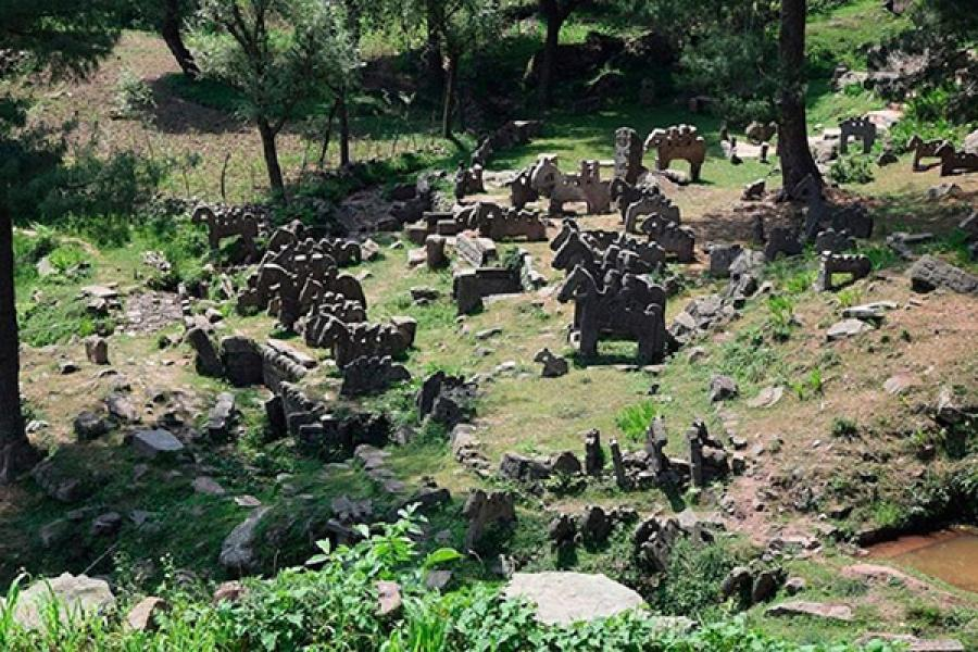 У Гімалаях знайшлі старажытнае каменнае войска