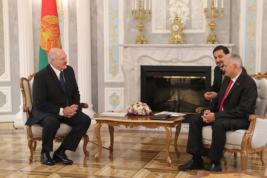 Лукашэнка: Патэнцыял адносін Беларусі і Турцыі выкарыстоўваецца не да канца