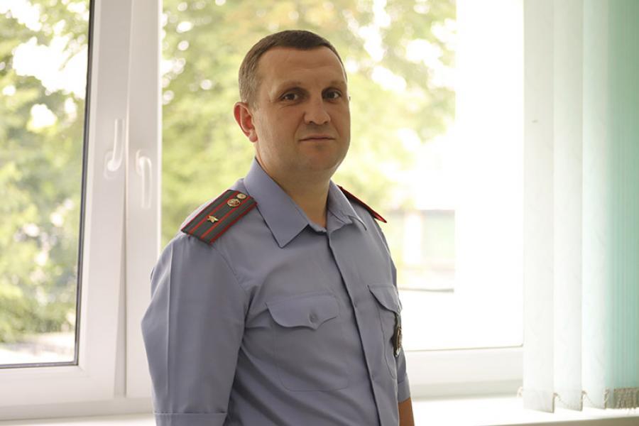 Майор милиции Андрей Абрамович: Моя задача как отца — воспитать детей хорошими людьми