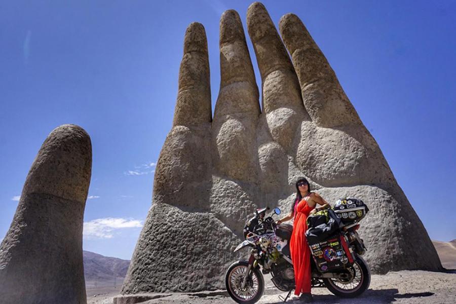 «Пока я на мотоцикле, мне ничего не страшно!». Интервью с «Края Земли», дальше от которого только пингвины и Антарктида