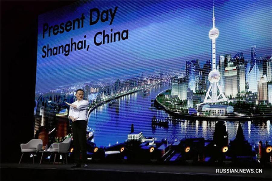 Карпарацыя Alibaba правяла форум у Дэтройце