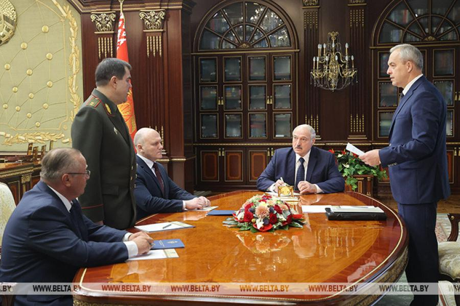 Александр Лукашенко сделал ряд кадровых назначений