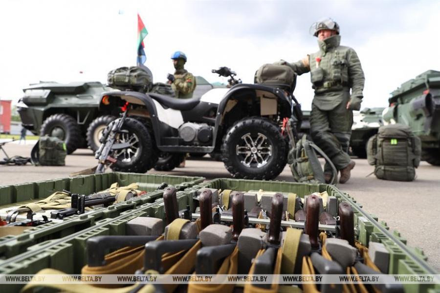 Прэзідэнт наведвае 103-ю асобную гвардзейскую паветрана-дэсантную брыгаду