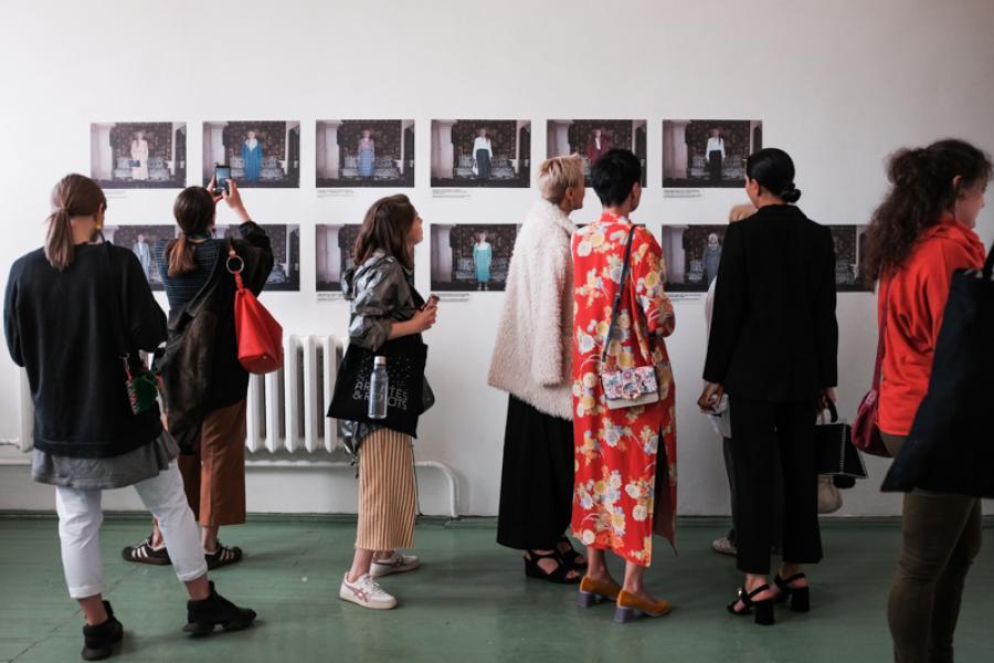 В Минске открылась фотовыставка Non-fashion
