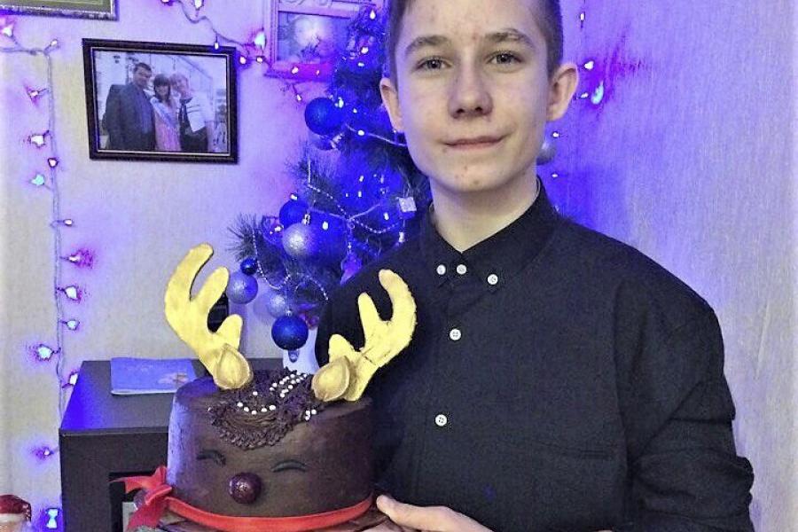 Девятиклассник из Молодечно создает красивые капкейки