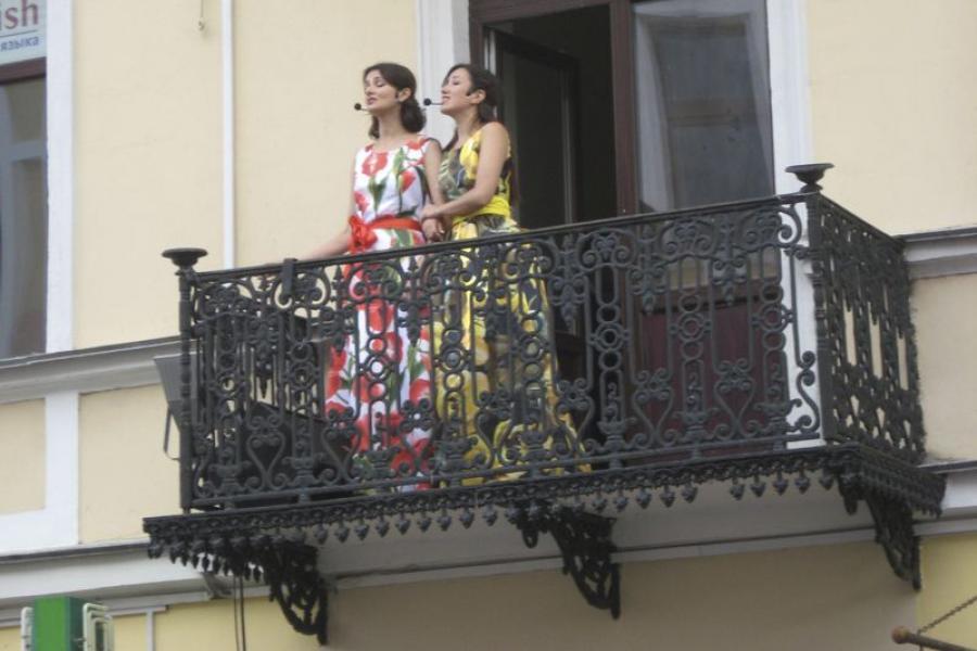Пешая улица в Гродно приобретает черты музыкального Бродвея
