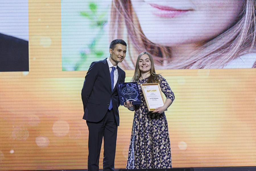 Вероника Пустовит стала номинантом весенней сессии конкурса «Рублевая зона»