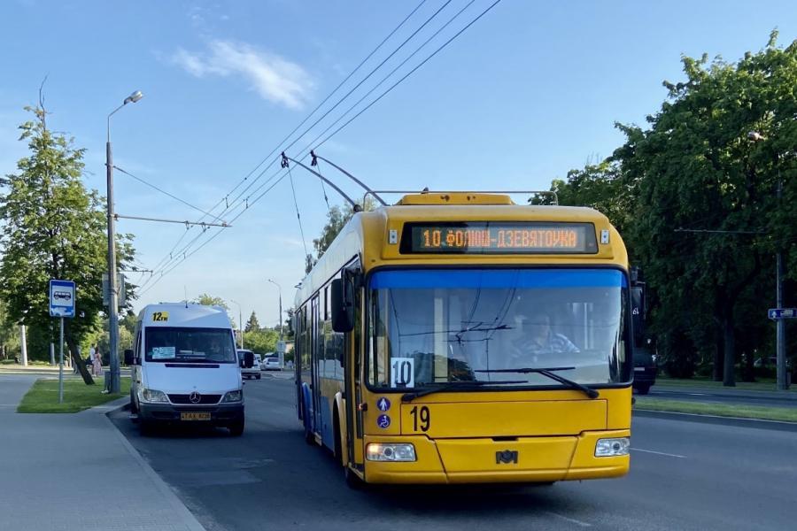 В Гродно новый троллейбусный маршрут, который свяжет Грандичи и Ольшанку