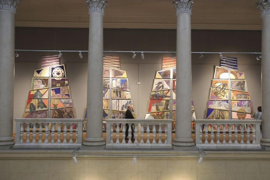 Художественная выставка в Минске собрала артефакты со всего мира