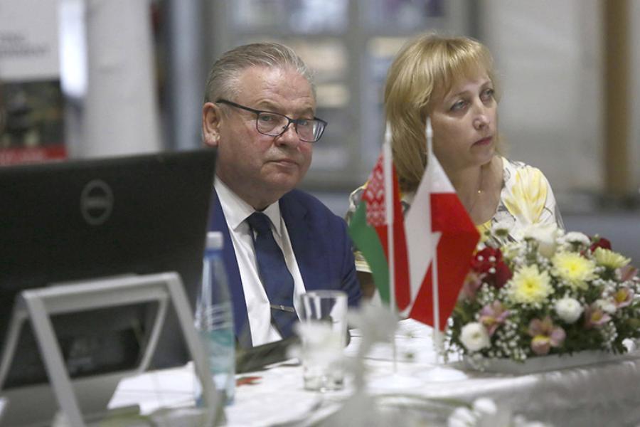 Аб тым, як супрацоўнічаюць Беларусь і Польшча
