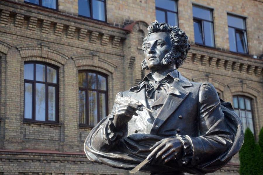 В Бресте торжественно открыт сквер и памятник Пушкину