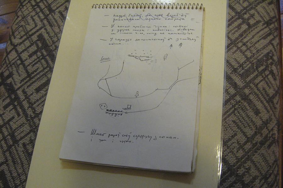 У Гродне знойдзены арыгіналы некалькіх франтавых малюнкаў Васіля Быкава