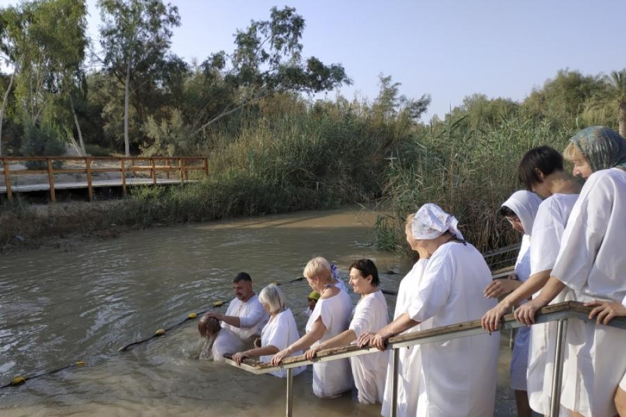 Якія таямніцы хаваюць у сабе воды свяшчэннай ракі Іардан?