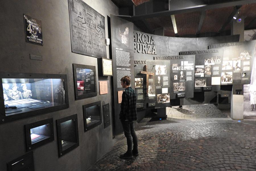 Інтэрактыўна аб Халакосце. Польскі вопыт у асвятленні Другой сусветнай вайны