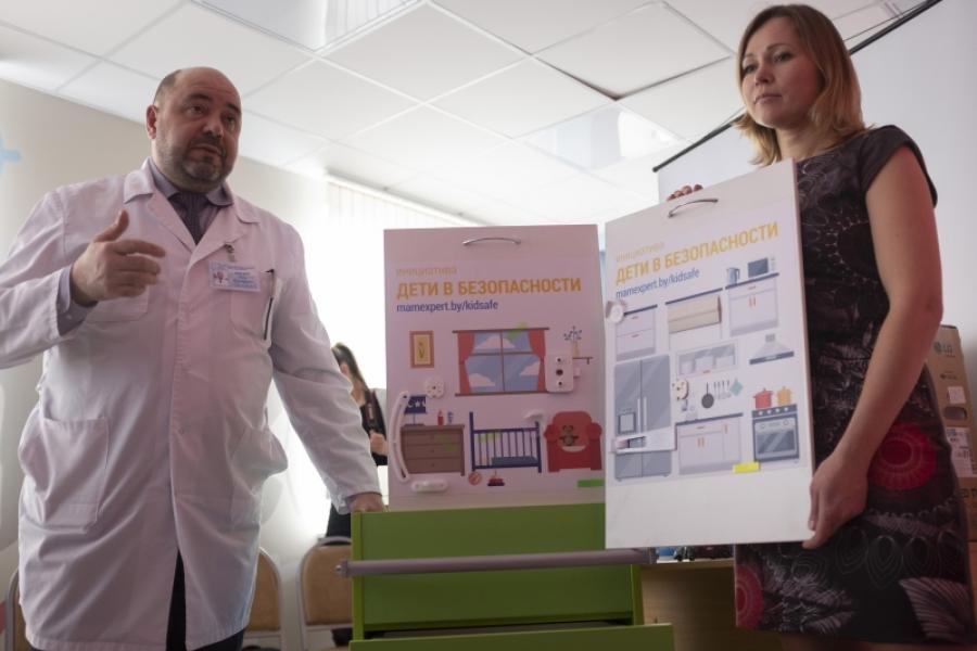 Клинический роддом Минской области получил первый «бокс безопасности»