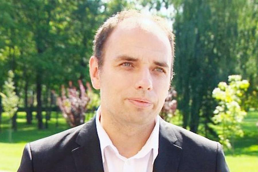 Аляксандр Бялевіч, прадстаўнік Аб'яднанага інстытута машынабудавання НАН