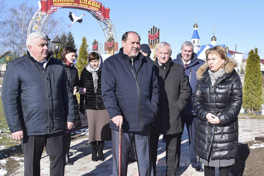 Марианна Щеткина совершила рабочий визит в Белыничский район