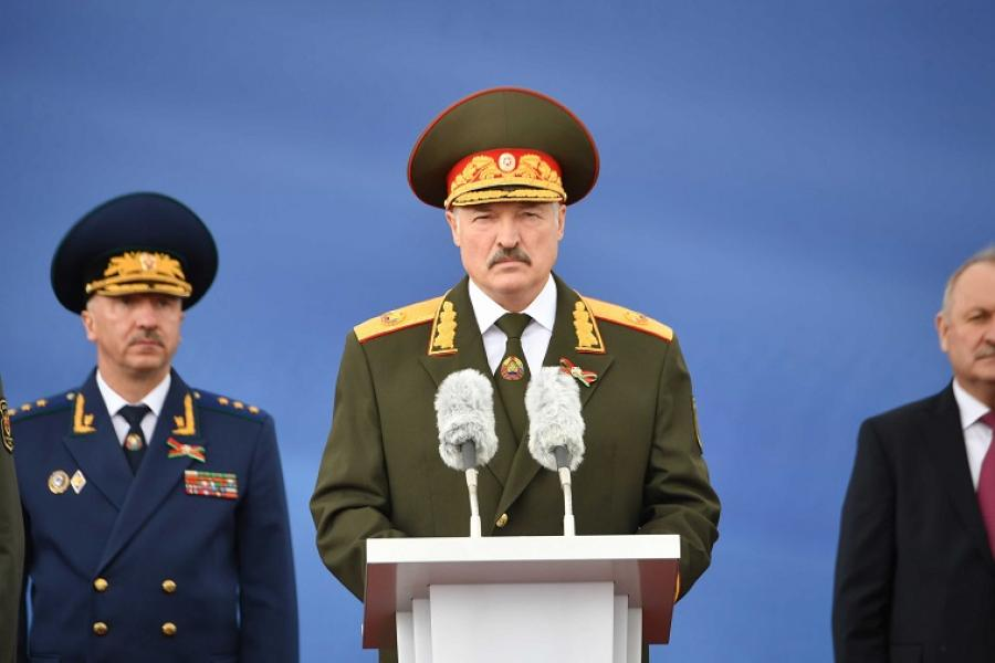 Выступление Президента Беларуси на параде в ознаменование Дня Независимости