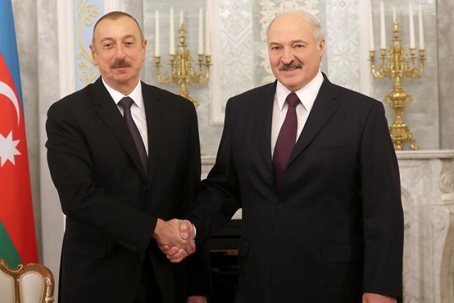 Аб чым дамовіліся прэзідэнты Беларусі і Азербайджана?