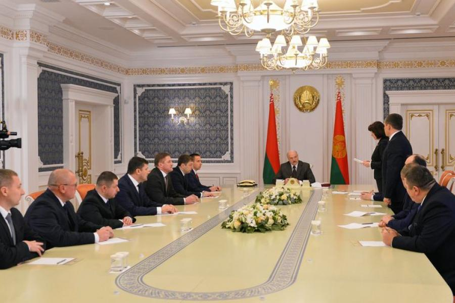 Шэраг кадравых прызначэнняў адбыўся ў Беларусі