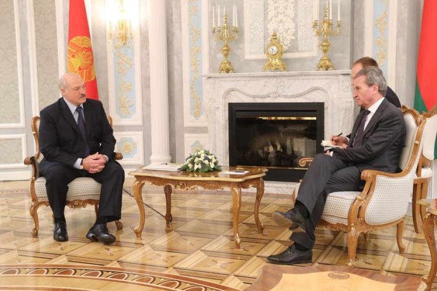 Прэзідэнт: Беларусь заўсёды будзе надзейным партнёрам ЕС