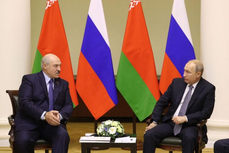 Лукашэнка прапаноўвае зняць усе праблемныя пытанні ў адносінах Беларусі і Расіі
