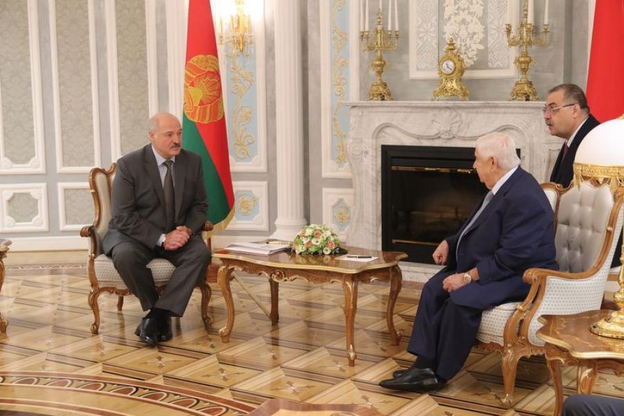 Александр Лукашенко: Беларусь готова помогать восстановлению Сирии