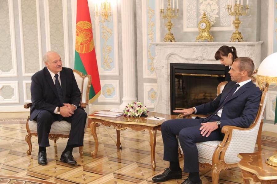 Беларусь гатова прыняць футбольныя спаборніцтвы самага высокага ўзроўню