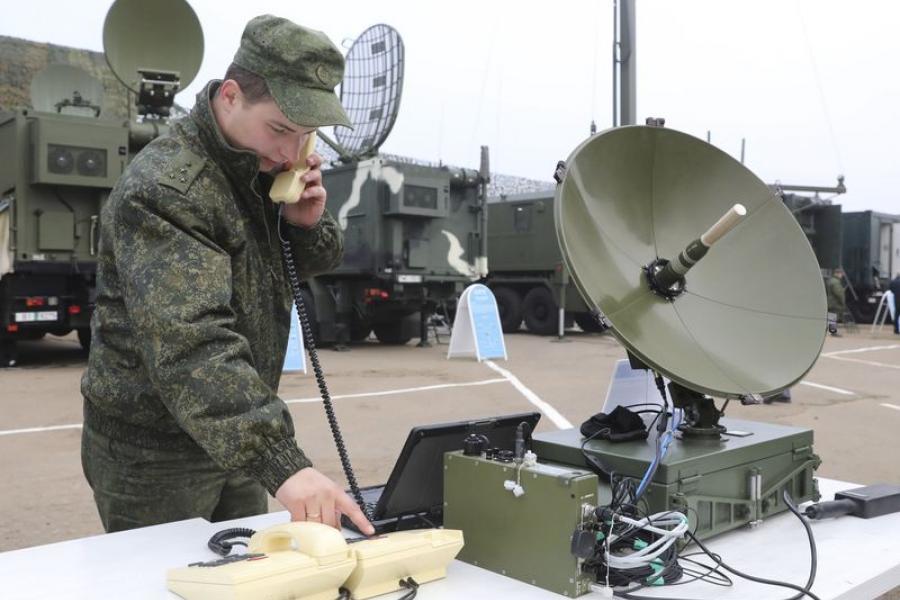 Як у Беларусі развіваецца ваенная сувязь