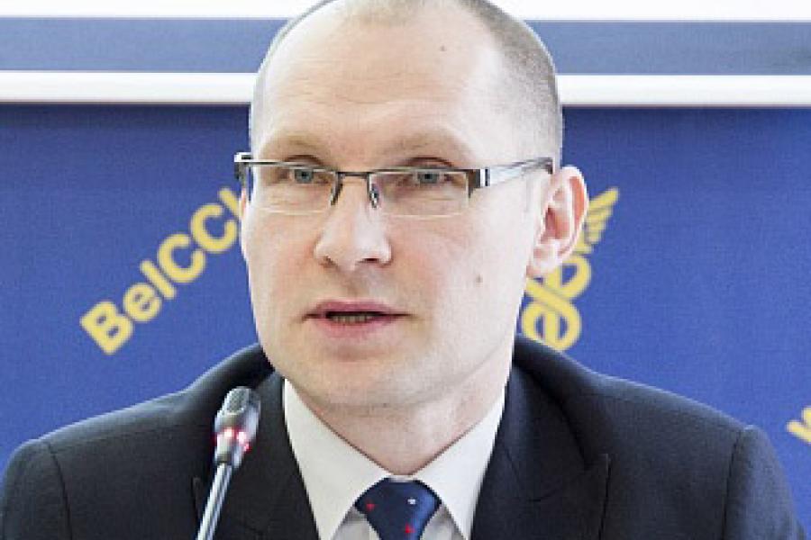 Евгений Введенский, директор УП «Белинтерэкспо» Белорусской торгово-промышленной палаты