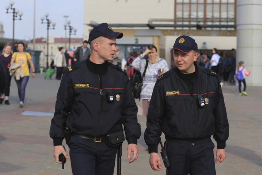 Парадак на чыгунцы: журналісты адправіліся ў рэйд з транспартнай міліцыяй