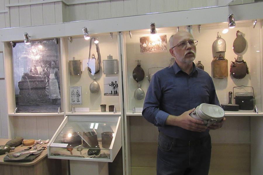 Уникальная выставка «Солдатская еда на фоне столетий»